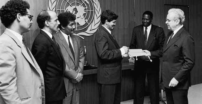 alto el fuego en 1991