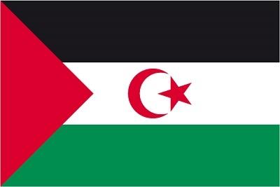 Bandera del Sahara Occidental (RASD)