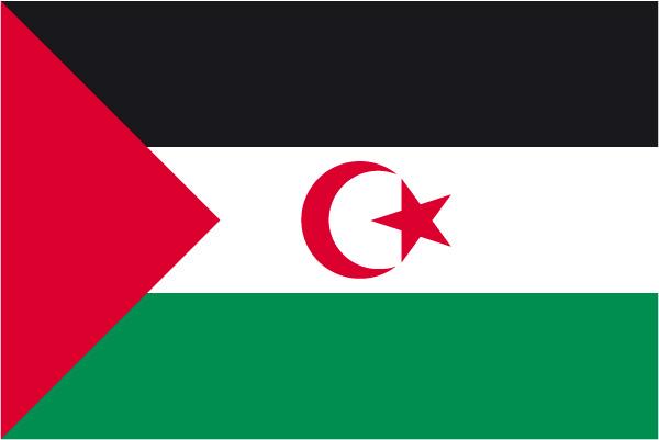 Bandera de la RASD