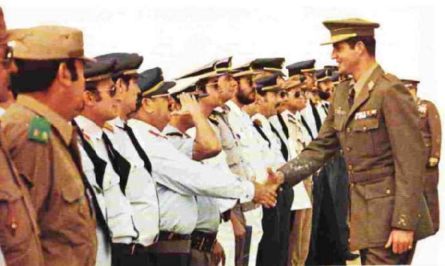 Juan Carlos visita a El Aaiun