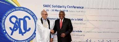 Relaciones RASD - Sudafríca