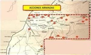 La estrategia marroquí de las columnas a los muros