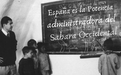 España potencia administradora